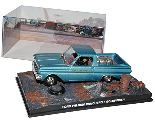 Ixo Ford Falcon Ranchero Goldfinger James Bond 007 1/43 Modell Auto