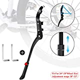Bike Kickstands, Adjustable Support Aluminum Alloy Kickstand for 24-29 inches Bike Side St
