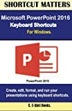 Microsoft PowerPoint 2016 Keyboard Shortcuts For Windows (Shortcut Matters)