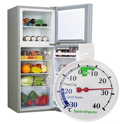 Cuigu Hängendes Kühlschrankthermometer, Hausgebrauchs-Temperaturanzeige Für Gefrierschrank-Kühlschrank-Kühlschrank, Strecke: -40C ~ 30C