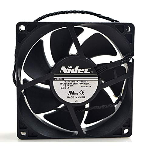 NIDEC T92T12MS3A7-57A03 9225 9cm 12V 0.35A 4-wire PWM cooling fan