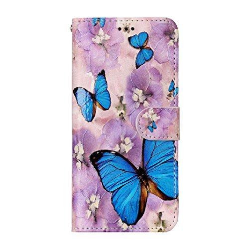Galaxy S8 Plus Flip Case, Samsung Galaxy S8 Plus Wallet Case, Rosa Schleife PU Leather Color Painted Embossed Flip Folio Magnetic Closure Phone Case Protective Cases Covers for Samsung Galaxy S8 Plus
