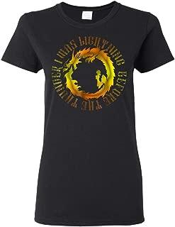 I was Lightning Before The Thunder Shirt The Dragons Thunder Ladies Shirt