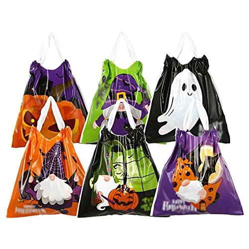 LEMESO ハロウィン 袋 ラッピング 30枚入 お菓子袋 手提げ袋 包装 小 かわいい お菓子 バッグ ラッピング袋 ギフト袋 ギフト キャンディー バッグ 小分け 個包装 小さい ポリ袋 パーティーグッズ
