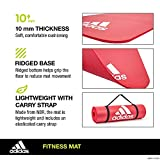 Zoom IMG-1 adidas fitness mat 10mm red