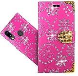 HülleExpert UMIDIGI A3 / A3 Pro Handy Tasche, Wallet Hülle Cover Bling Diamond Hüllen Etui Hülle Ledertasche Lederhülle Schutzhülle Für UMIDIGI A3 / A3 Pro