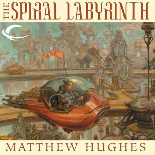 The Spiral Labyrinth audiobook cover art