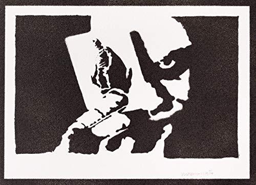 Joker Spielkarte Batman Poster Plakat Handmade Graffiti Street Art - Artwork