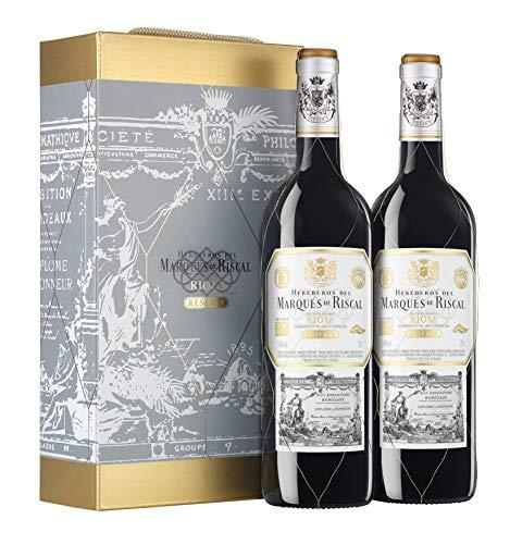 Marqués de Riscal - Vino Tinto Reserva D.O. Rioja - Estuche 2 Botella