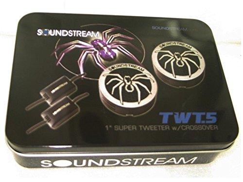 Soundstream Twt.5 1 110w Pie Dome Tweeters 4 Ohm, Model: TWT.5, Electronics & Accessories Store