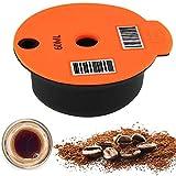 Wangduodu cápsulas de café cápsulas de café para Tassimo, Almohadillas de café con Filtro de café Recargables y Reutilizables para máquinas Bosch Tassimo