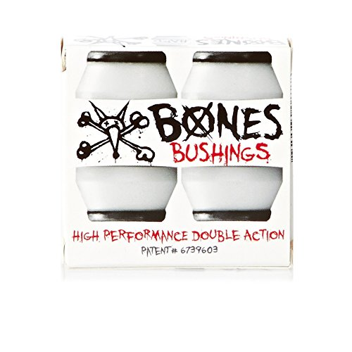 BONES WHEELS Hard Bushings (2 Set), White
