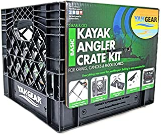 Yak Gear 01-0004-01 Kayak Angler in Crate Basic Kit