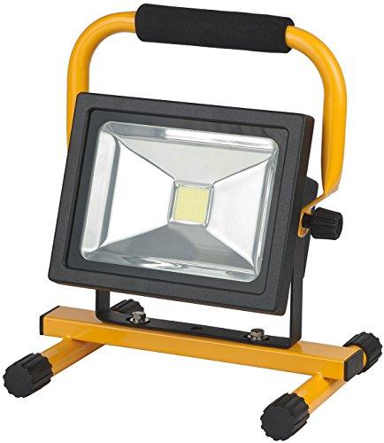 Preisvergleich Produktbild Brennenstuhl Mobile Akku Chip-LED-Leuchte / LED Strahler Akku (Außenleuchte 20 Watt,  Baustrahler IP54,  Fluter Tageslicht) Farbe: schwarz / gelb