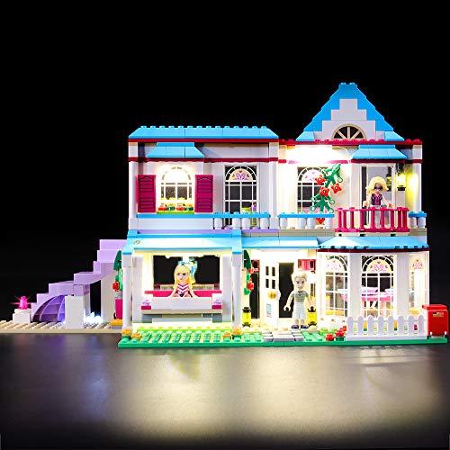 LIGHTAILING Conjunto de Luces (Friends Casa de Stephanie) Modelo de Construcción de Bloques - Kit de luz LED Compatible con Lego 41314 (NO Incluido en el Modelo)
