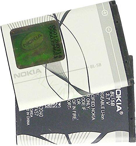 Nokia BL-5B - Batteria agli ioni di Litio 760mAh