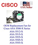 1x Extra-Cooling Replacement Fan Cisco ASA 5500-X Series ASA 5512-X ASA 5515-X ASA 5525-X ASA 5545-X ASA 5555-X
