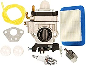 HIFROM Carburetor with Fuel Line Repower Tune-up kit Air Filter Replacement for Echo PB651H PB651T PB-755 PB-755H PB-755T PB-755SH PB-755ST PB-751 PB-751H Replace Walbro WYK-192 WYK192