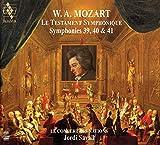 ~交響曲による遺言~ モーツァルト : 交響曲第39, 40 & 41番 / ジョルディ・サヴァール | ル・コンセール・デ・ナシオン (Le testament symphonique ~ Mozart: Symphonies 39, 40 & 41 / Jordi Ssavall, Le Concert des nations) [2SACD Hybrid] [Import] [日本語帯・解説付] - ジョルディ・サヴァール, ル・コンセール・デ・ナシオン, モーツァルト, ジョルディ・サヴァール, ル・コンセール・デ・ナシオン