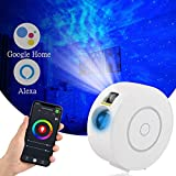 Galaxy Star Projector with Nebula,Alexa & Google Home Compatible APP/Voice Controlled Galaxy Night Light Projector for Bedroom/Bar/Party/Home Theatre/Music Hall