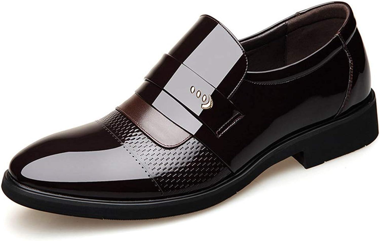 herr Oxford skor med med med spetsig tå Andliga icke -glidande affärsskor Formala skor  val med lågt pris