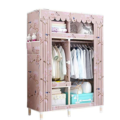 Einfacher Kleiderschrank Massivholzkleiderschrank 105 * 45 * 170 Einfacher Kleiderschrank (Farbe : C)