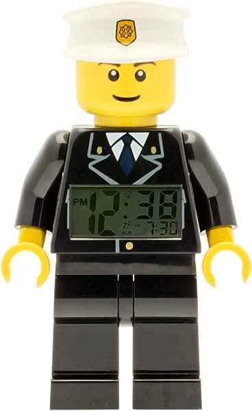 LEGO Kids LEGO City Policeman Minifigure Alarm Clock