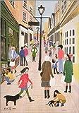 Poster 21 x 30 cm: Vorweihnachtszeit, Bristol, 1989 von