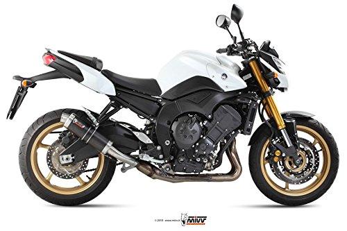 MIVV-Auspuff YAMAHA FZ8 / FAZER 8 Bj.ab 2010 (GP,Carbon,Motorrad)