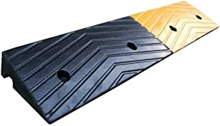 Truck Ramps, Factory Pier Loading Ramps Firm Rubber Service Ramps Hotel Supermarket Entrance Vehicle Ramps 100 * 20 * 6.5C...