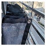 ZQH Panel de Sombra Paño de Sombra Cortina de Sombrilla Tela Resistente a Uv Malla de Malla Paño para Plantas 90% Sombrero Sombrero Sombrero, Personalizable,Plata,2 × 8M
