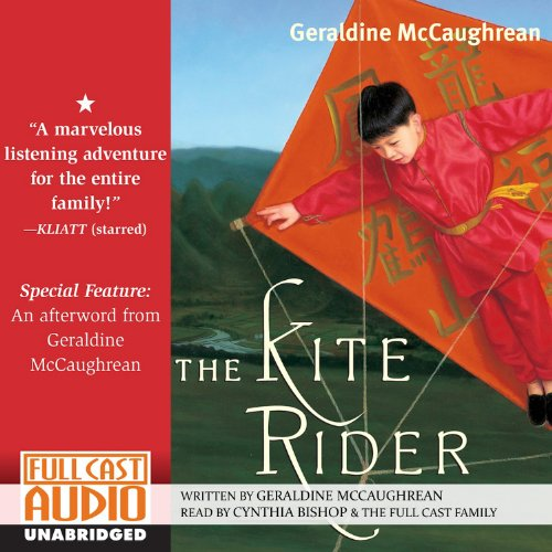 The Kite Rider audiobook cover art