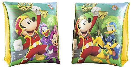 ALMACENESADAN 1217; Manguitos Hinchables Disney Mickey Mouse Y Los Superpilotos, 23x15 cm, para 3-6 años