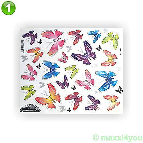Fiets framesticker lijststicker sticker vlinders