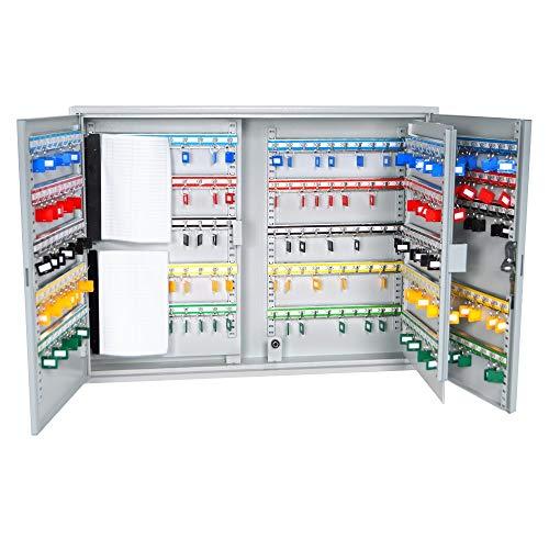 DuraBox 400 Position Key Cabinet with Key Lock, Light Grey (K400)