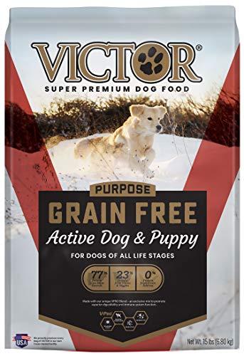 Victor Super Premium Pet Food Purpose - Grain Free Active Dog & Puppy, Dry Dog Food