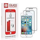 Bear Village® Displayschutzfolie Kompatibel mit iPhone 6 Plus/iPhone 7 Plus/iPhone 8 Plus, 9H Härte, Anti Öl, Transparenz Schutzfolie aus Gehärtetem Glas für iPhone 6 Plus/iPhone 6S Plus, 2 Stück -