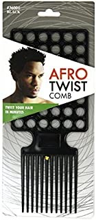 Afro Twist Comb Black twist your hair in minutes [並行輸入品]