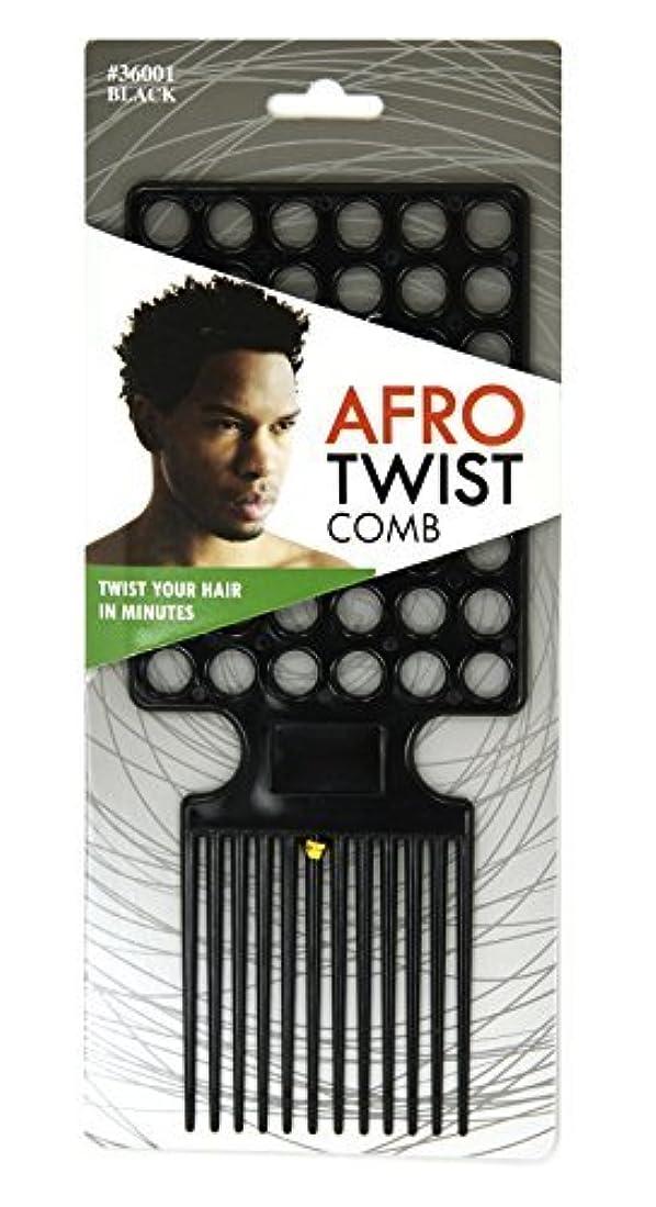 竜巻コンテスト合計Afro Twist Comb Black twist your hair in minutes [並行輸入品]