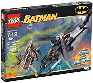 LEGO The Batcopter. The Chase for Scarecrow
