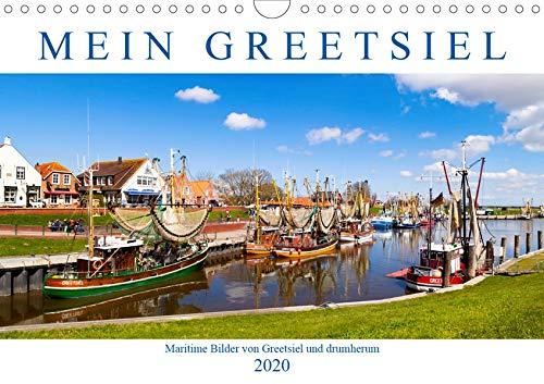 Mein Greetsiel (Wandkalender 2020 DIN A4 quer): Maritime Bilder von Greetsiel und drumherum (Monatskalender, 14 Seiten ) (CALVENDO Orte)