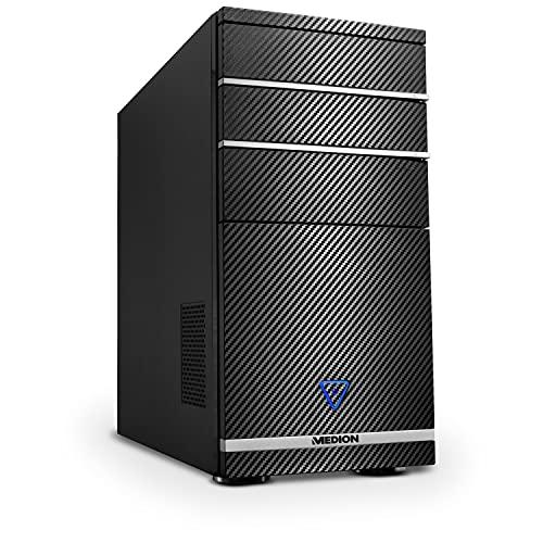 MEDION P62011 Desktop Computer (Intel Core i7-8700, 8GB DDR4 RAM, 256GB SSD, Intel UHD Grafik, DVD, WLAN, Win 10 Home)