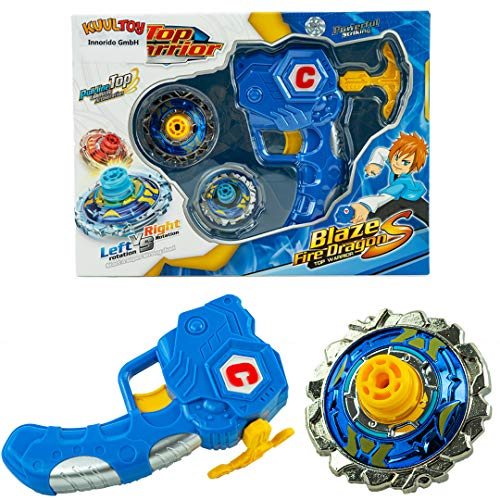 Kuultoy Beyblade Blaze Burst Kreisel 1er Kampfkreisel Starter Set für Kinder