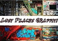 Lost Places Graffiti (Wandkalender 2022 DIN A2 quer): Lost Places und Graffiti koennen eine wunderbare Kombination sein. (Monatskalender, 14 Seiten )