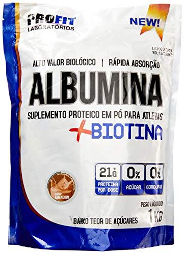 Albumina 1 Kg - Amendoim, Profit