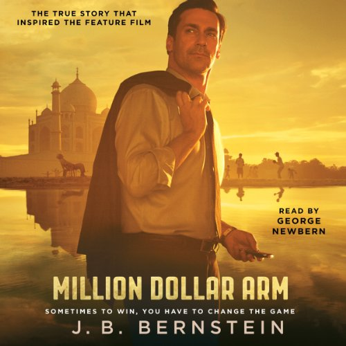 Million Dollar Arm audiobook cover art
