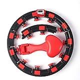 Best Hula Hoops - AOODIL pilate Circle Work Out Smart Hula Hoop Review