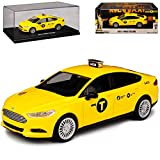 "GREENLIGHT 1:43 SCALE""2013 FORD FUSION NYC TAXI"" グリーンライト1:43スケール 「2013 フォード フュージョン タクシー」"