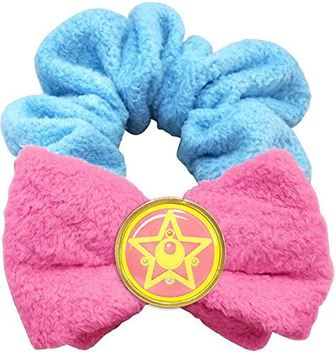 Sailor Moon Miracle Romance Bath Time Collection Hair Scrunchie for Hair / Wrist (Crystal Star Compact)
