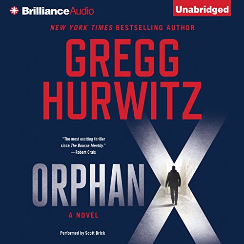Orphan X audiobook cover art